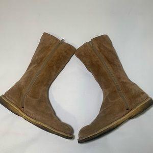 Camper Shoes - Camper Calf Zip Suede Boots